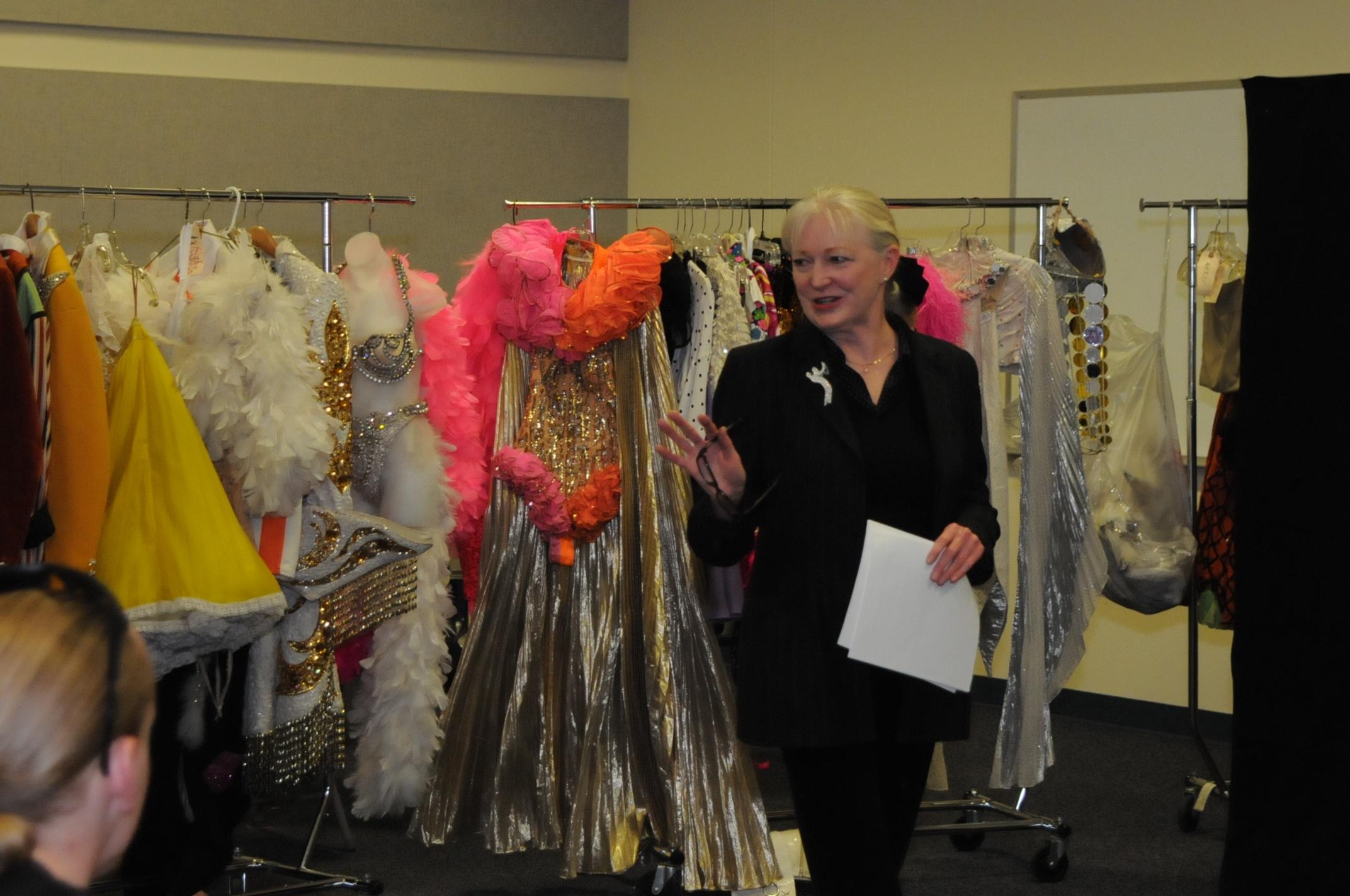 Karen Burns, dancer in Hello Hollywood, Hello.