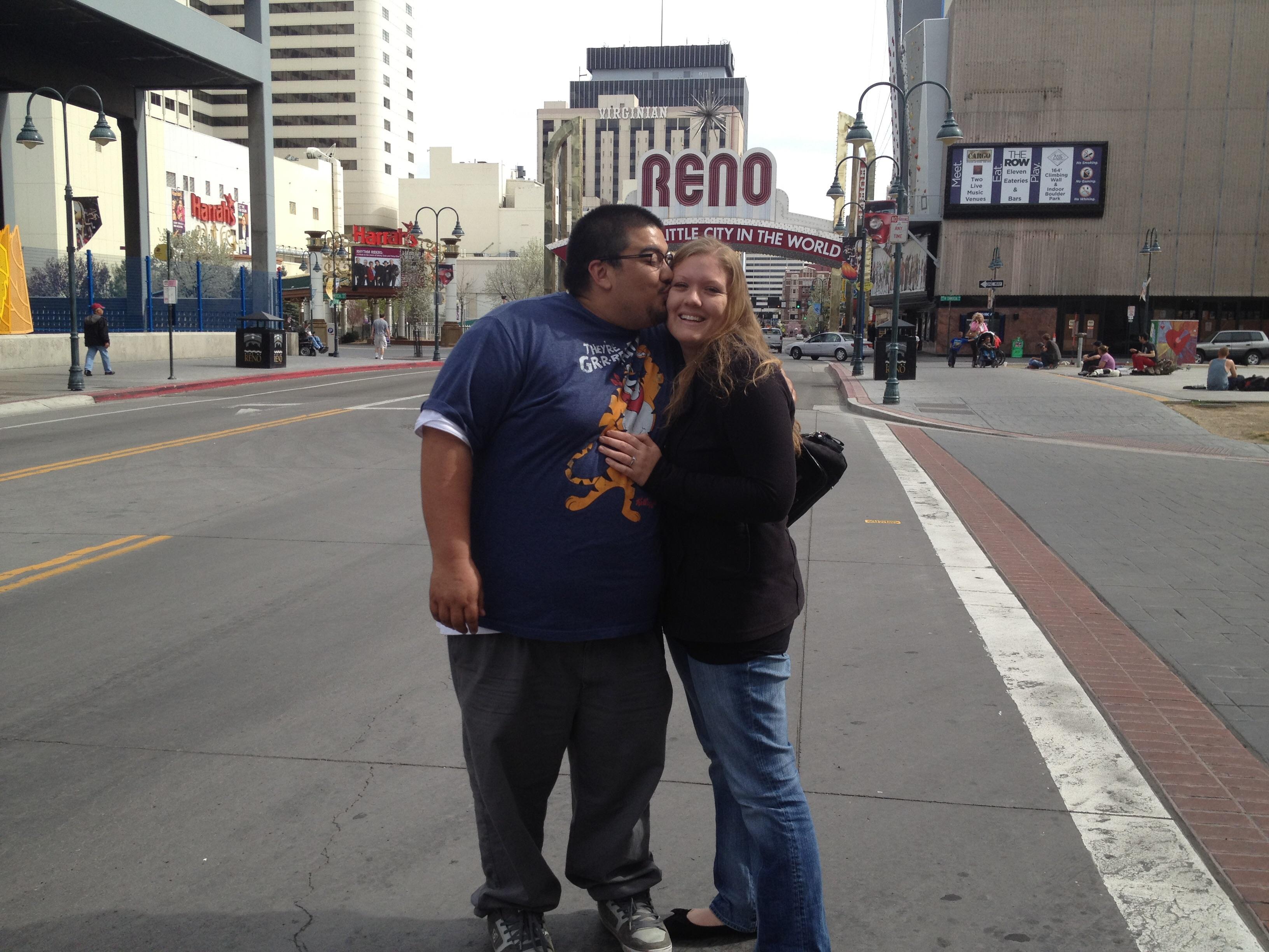Anna Pepita and her husband