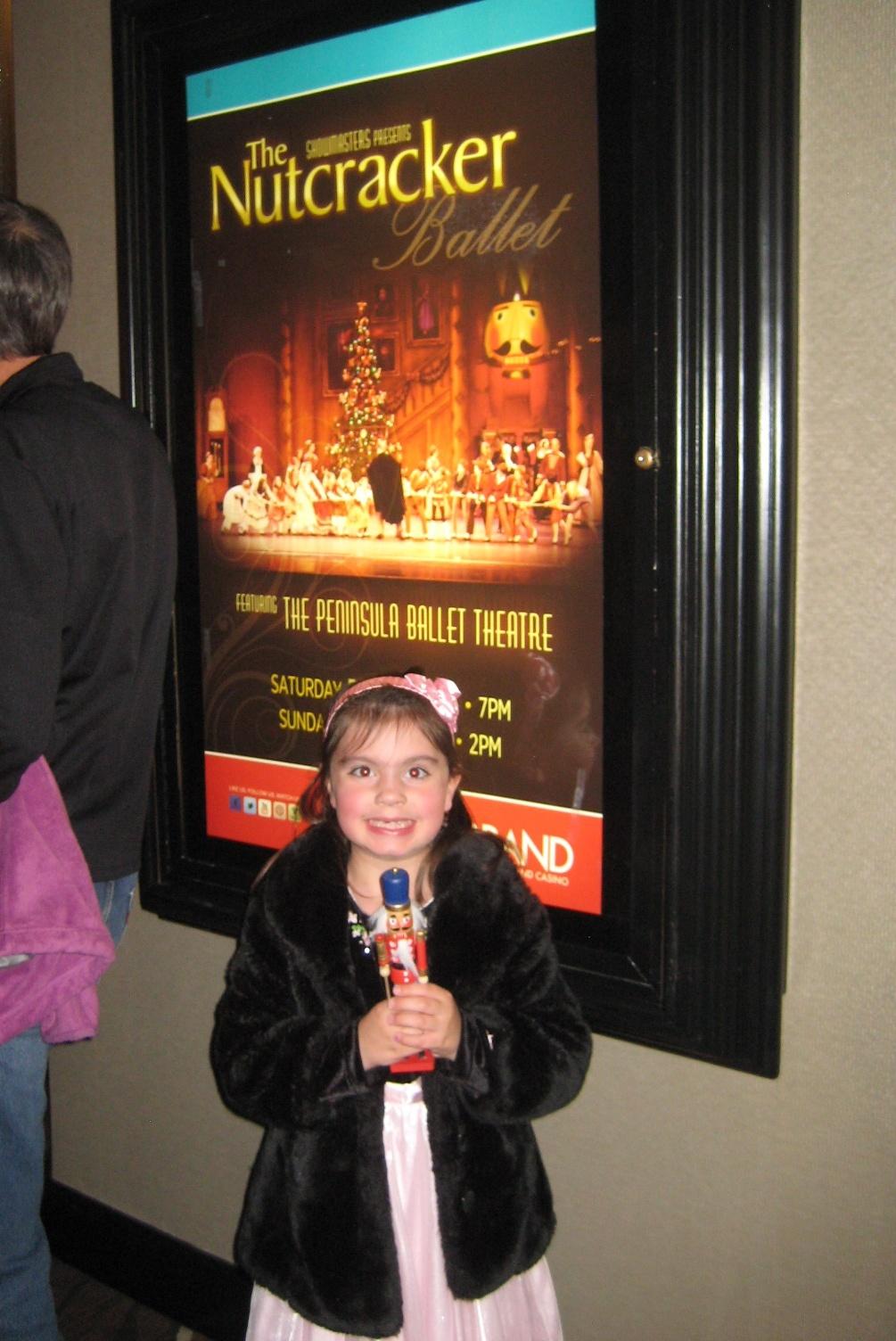 Fabienne Hansen At Nutcracker in the Grand Theatre