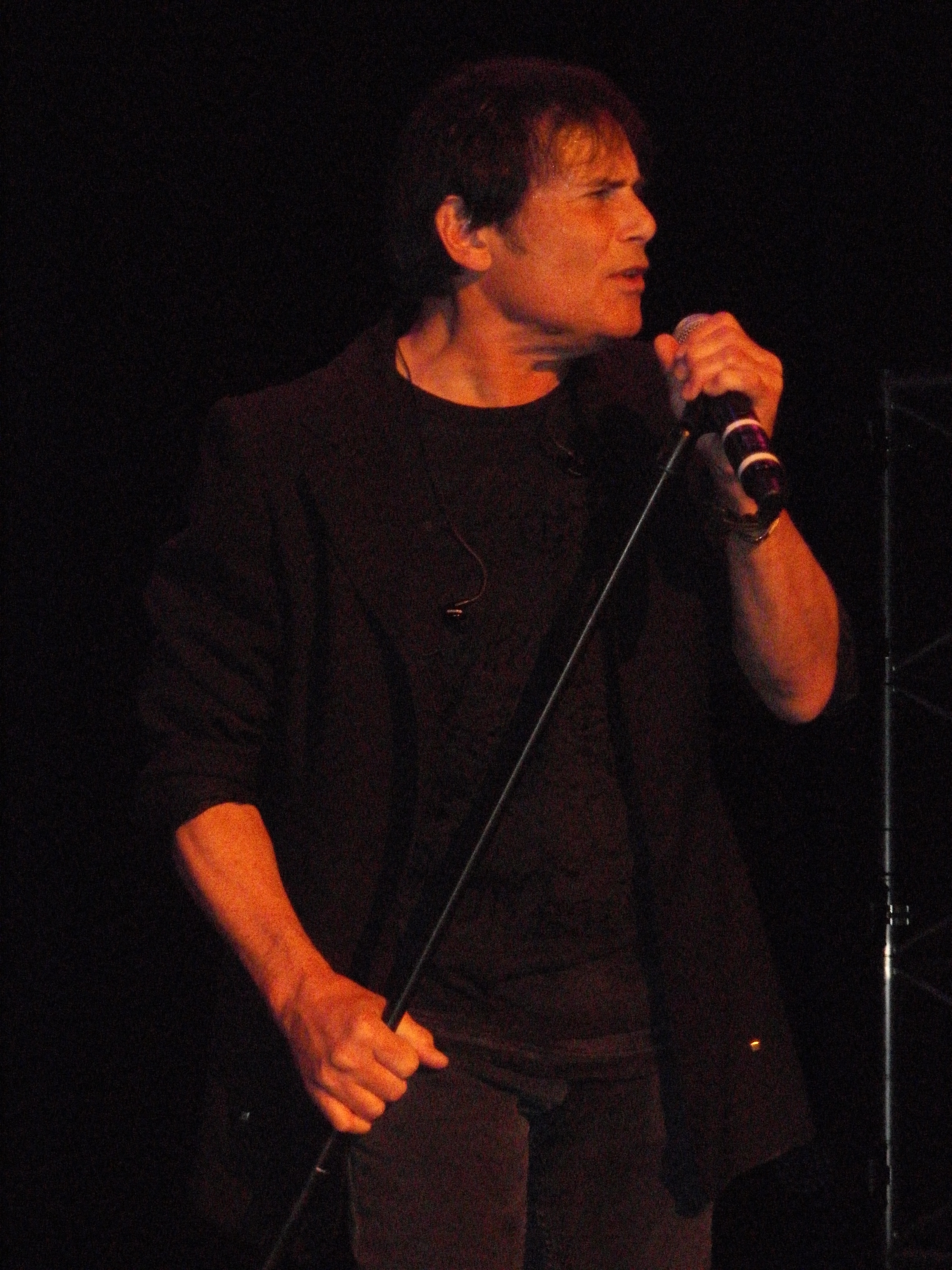Jimi Jamison performs with Survivor photo by Jon Preiss.
